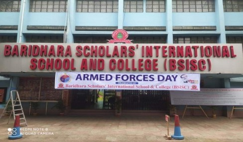 Today BSISC has celebrated Armed Forces day.