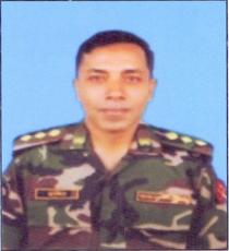 Col Gazi Md Khalid Hossain,psc