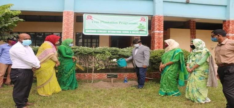 'Tree Plantation programme' on 15 July, 2021.