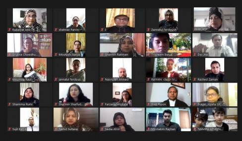 BSISC observed  International Mother language day